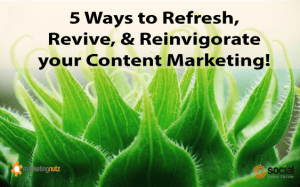 content marketing strategy tips to refresh