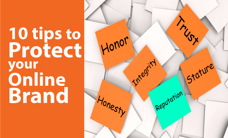 protect online brand reputation tips