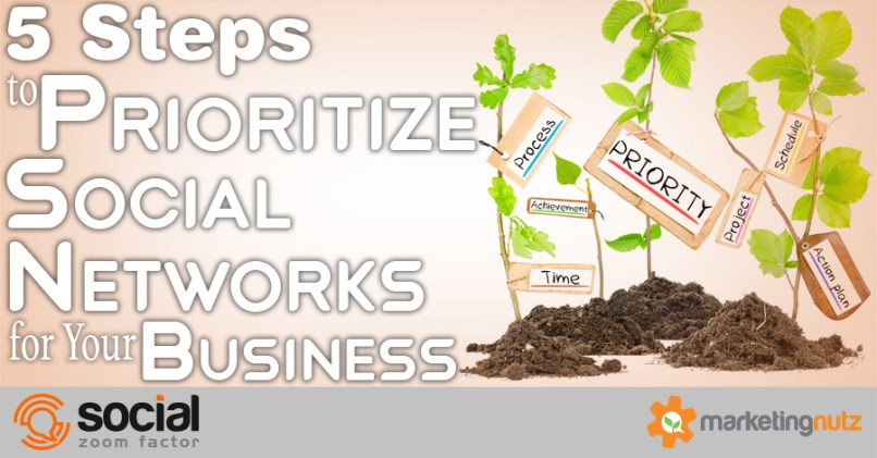 5 Steps to Prioritize the Right Social Networks for Your Business