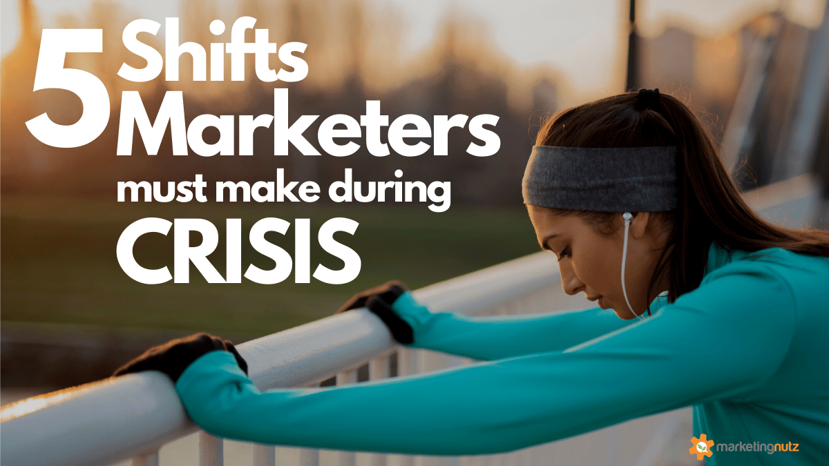 Covid19 Marketing: 5 Shifts Marketers Must Make During a Crisis [podcast]