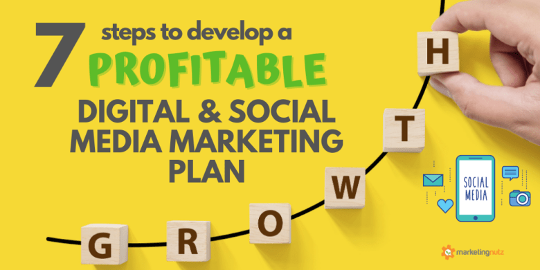 7 Steps to Develop a Profitable Social Media & Digital Marketing Plan in 2021 Marketing Nutz Digital Agency
