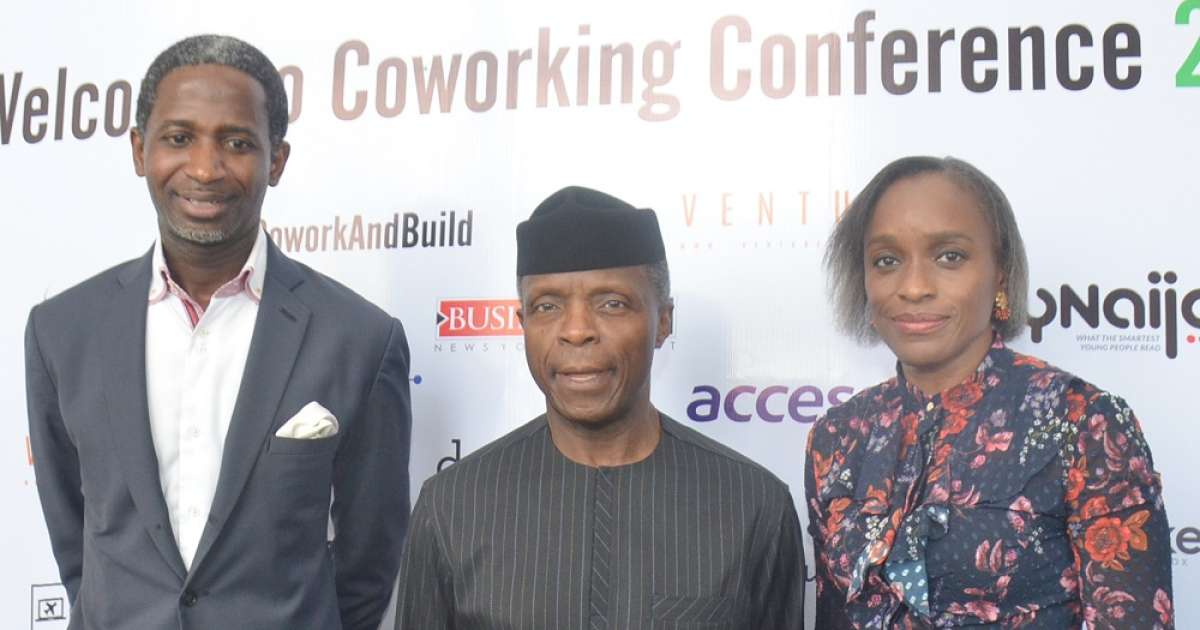 Osinbajo, ex-minister attend 2018 Coworking conference - Business