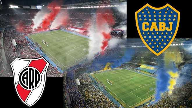 Chaos for River-Boca: Two Bernabeus could be filled