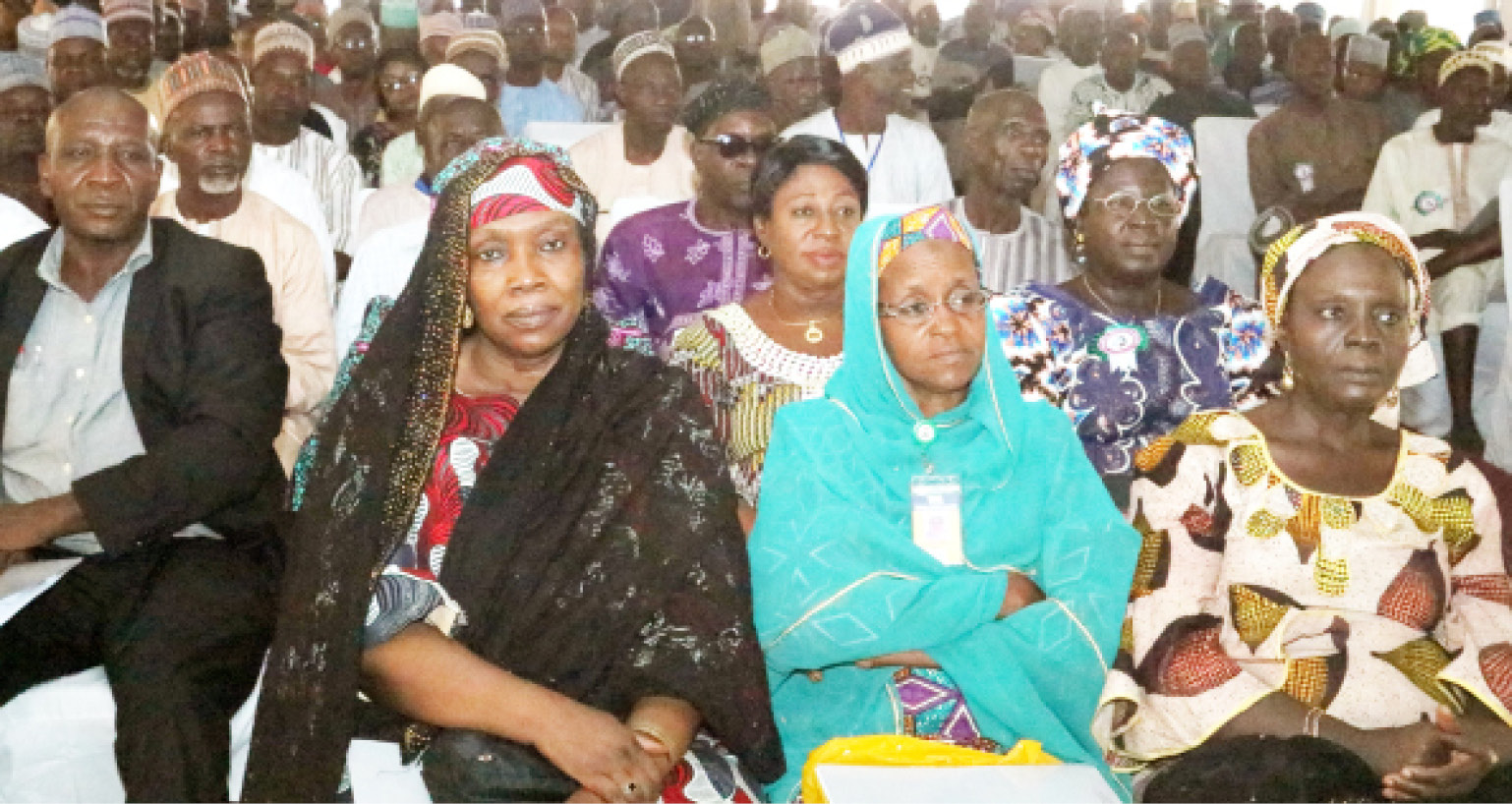 Cross-section of prospective retirees at the 2019 Kano pre-retirement workshop