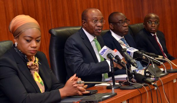Central Bank of Nigeria injects $210m in forex market