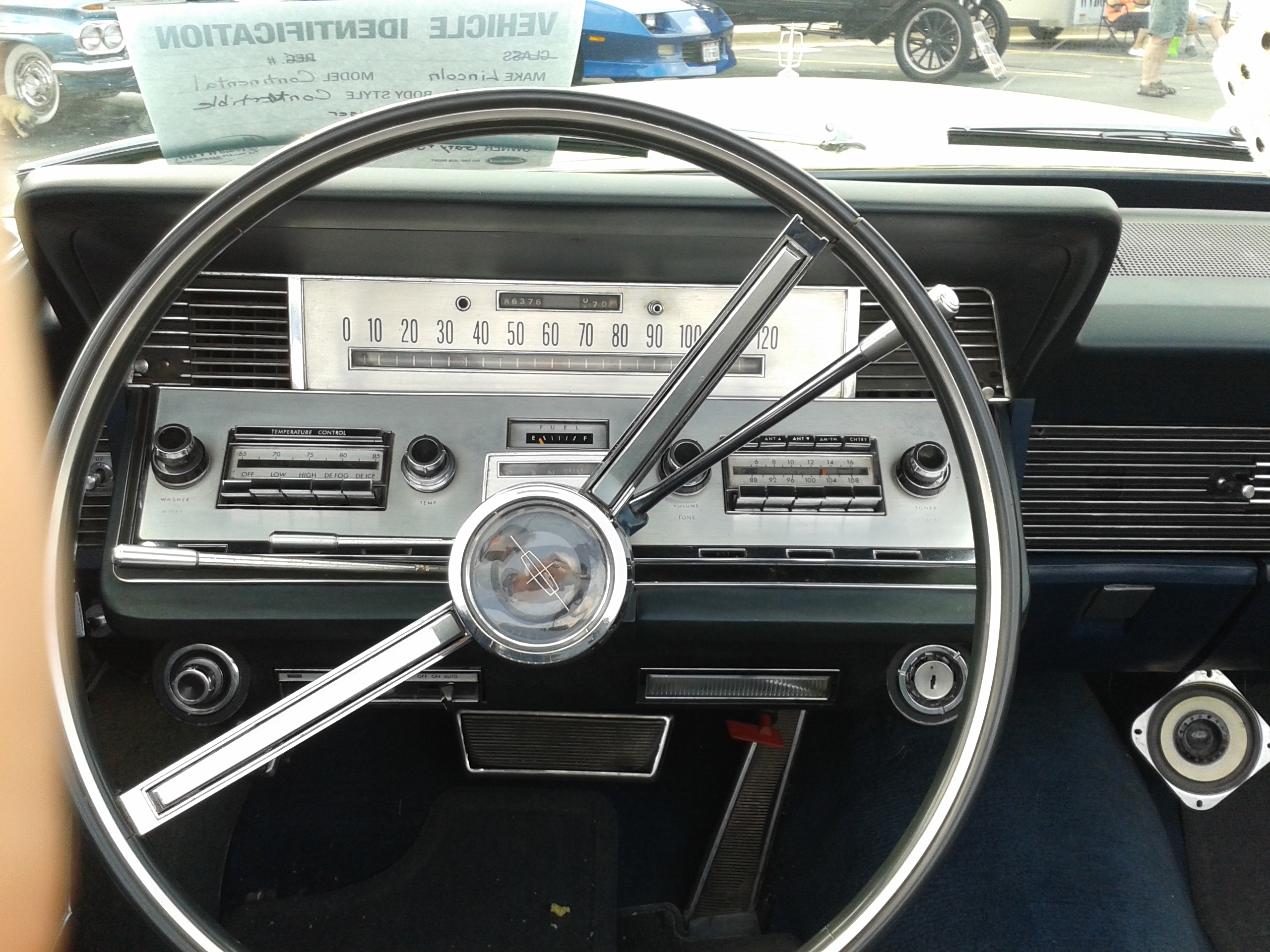 Car Show Find 1966 Lincoln Continental In The Badger