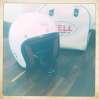 Bell Jet R-T helmet