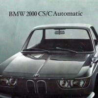 1966 BMW 2000 CS.