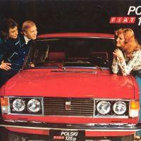 1969 Polski Fiat 125.