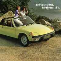 The VW-Porsche 914 - take two.