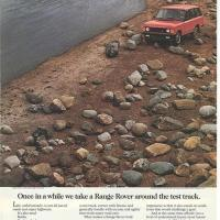 Great Range Rover ads.