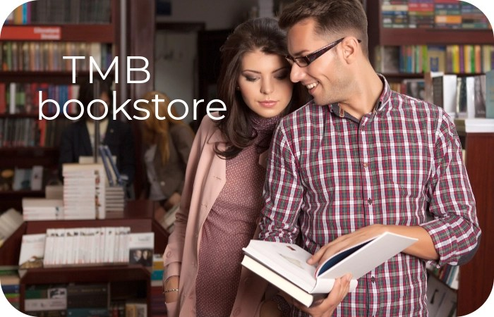 couple in bookstore