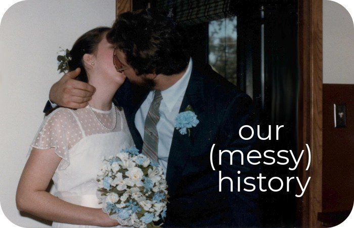 marriage day kiss
