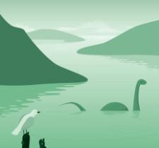 Loch ness monster © Suomuurain | Dreamstime.com