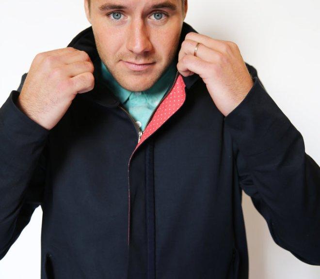 mens harrington_mid model_ collar up