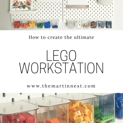 The Ultimate LEGO WOrkstation