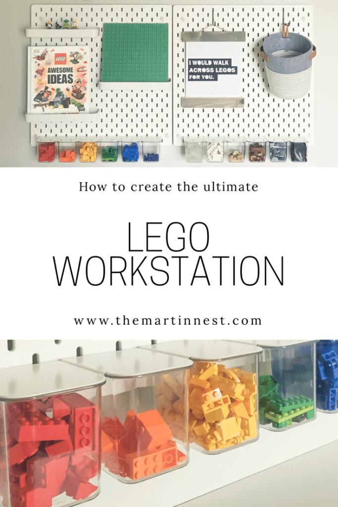The Ultimate LEGO WOrkstation