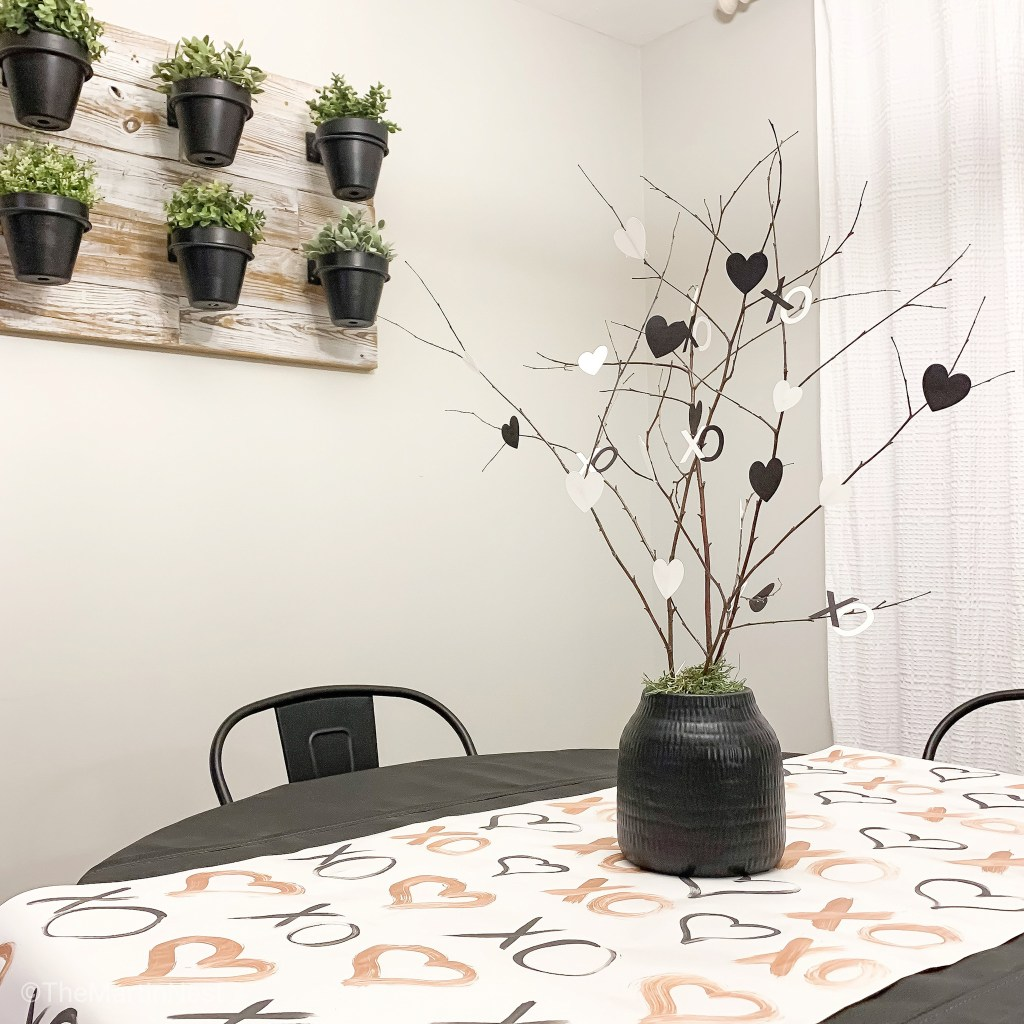 Hand-painted DIY Table Runner