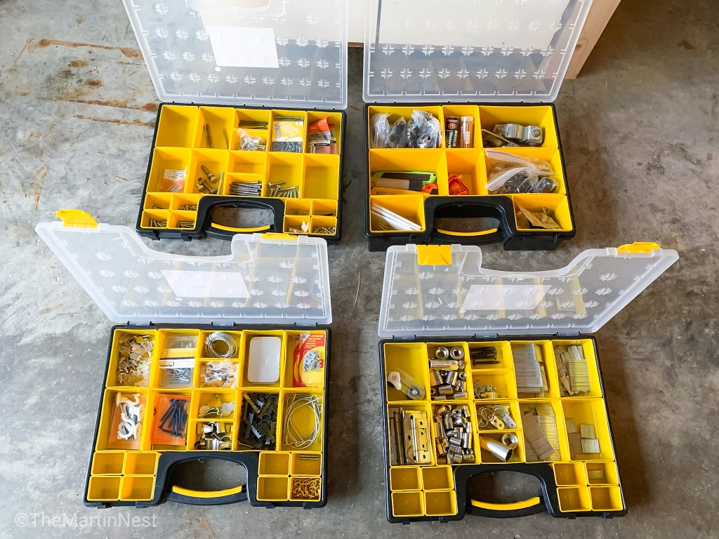 Small Parts Tool Storage