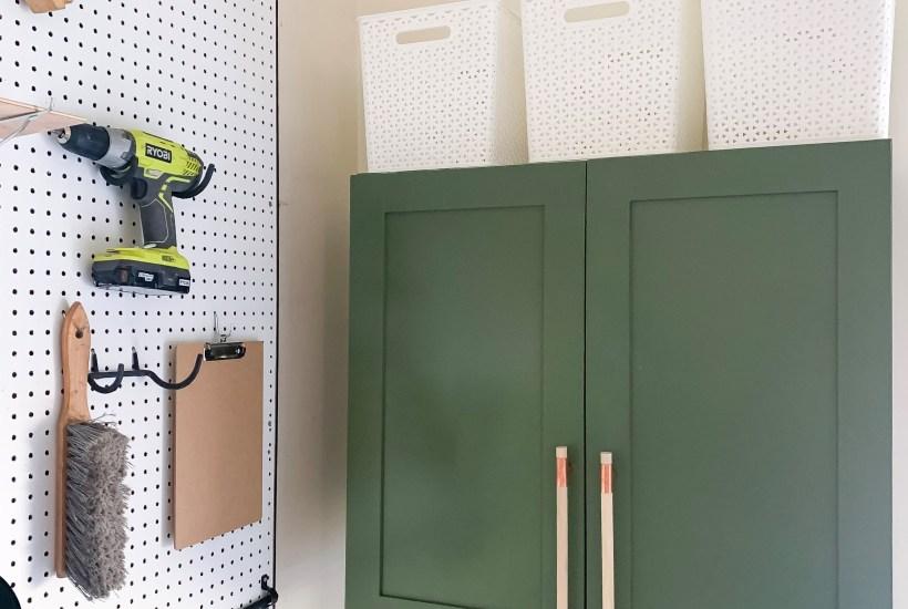 DIY Laminate Cabinet Makeover