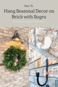 How to Hang things on brick