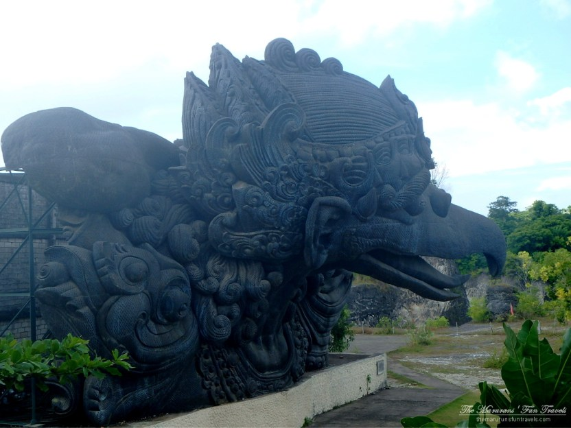 Garuda Statue from the Side: GWK Cultural Park