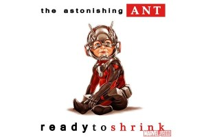Ant-Man crossed with Ready to Die cover.