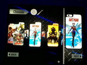 The cases feature everyone from Wasp to She-Hulk.