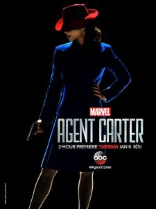 Marvel's Agent Carter first season key art.