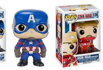 Funko Civil War Pops