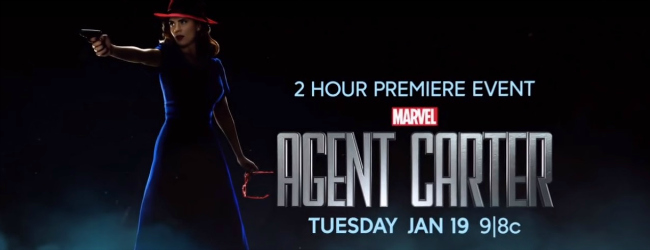 Agent Carter Season 2 Premieres January 19th at 9/8c