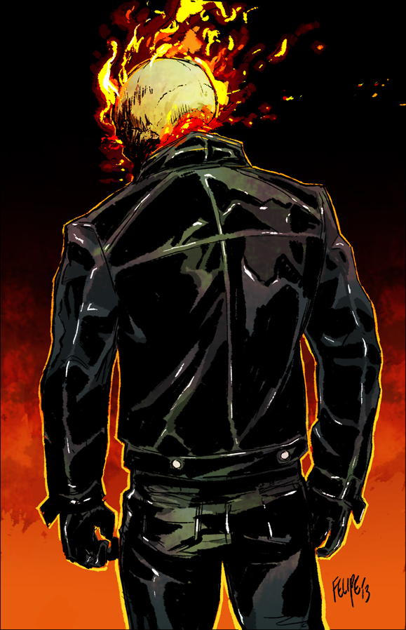 Get To Know Marvel's Ghost Riders: The Phantom Rider - The Marvel Report
