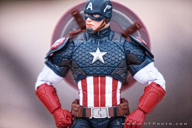 Hasbro Marvel Legends Captain America