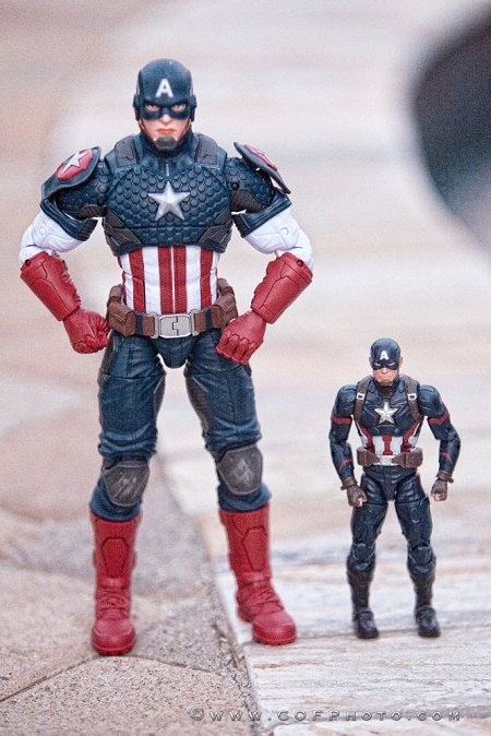 Marvel Legends Series 12-inch Captain America Hasbro B7433