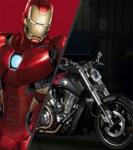 Iron Man V-Rod Muscle® Boldness