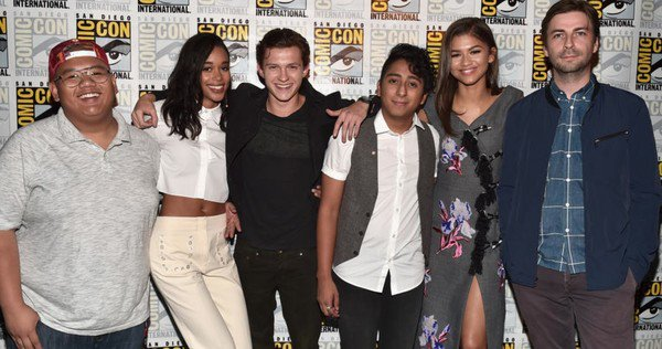 The cast of 'Spider-Man: Homecoming' reflecting the world we live in.