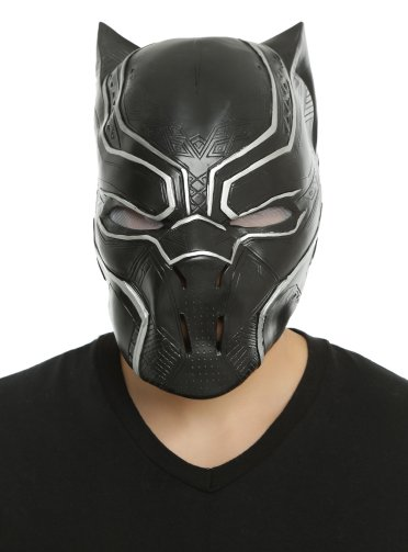 A Black Panther mask available at Hot Topic