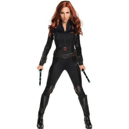 A full Black Widow costume is available at Target.
