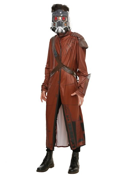 A full Star-Lord costume available at Hot Topic