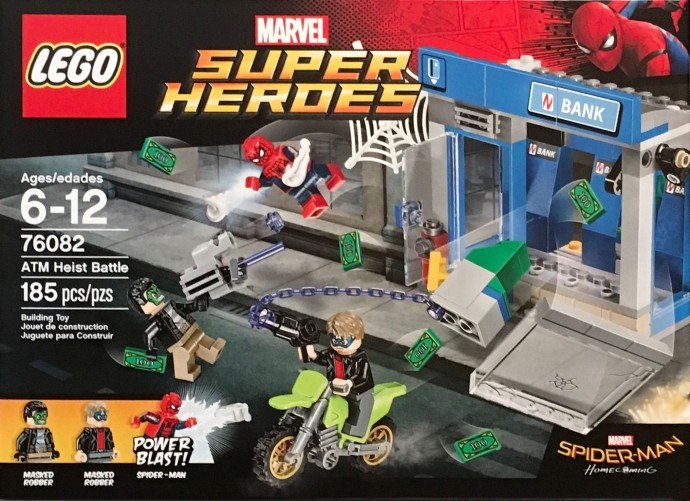 New Lego Spider-Man: Homecoming Set - The Marvel Report