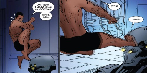 The Ultimates 2 #5 Review Black Panther and Ling