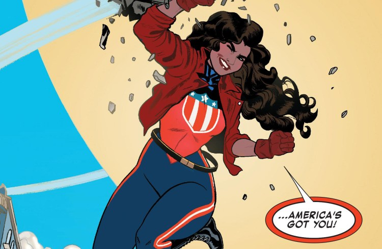Gina Rodriguez wants to be America Chavez