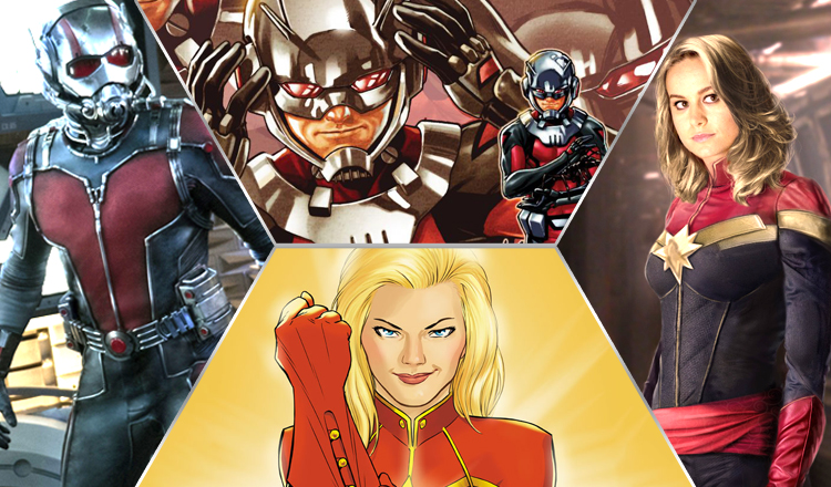 Captain Marvel and Ant-Man Film Dates
