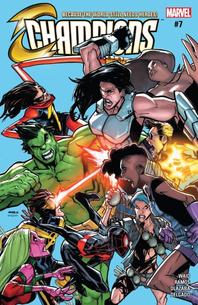 Champions #7 Review Cover