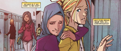 Ms. Marvel #17 Review Cover Love Hug