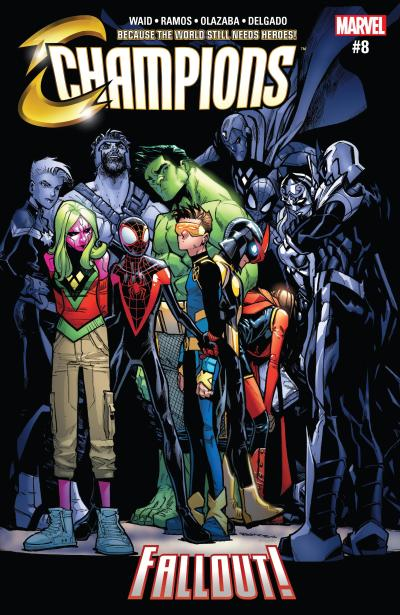 Champions #8 Review Cover