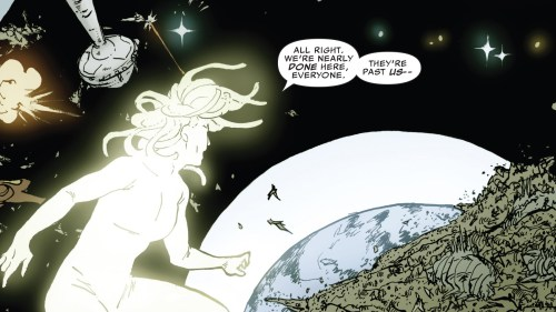The Ultimates 2 #7 Review Monica Light Form