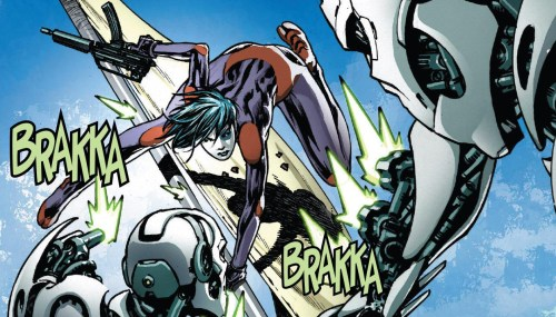 Weapon X #3 Review Domino Fighting