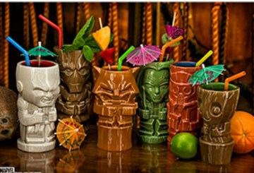 Guardians of the Galaxy Geeki Tiki Cup Set