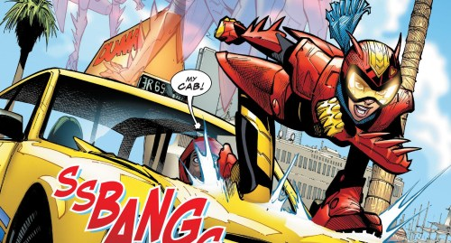 Champions #9 Review Red Locust